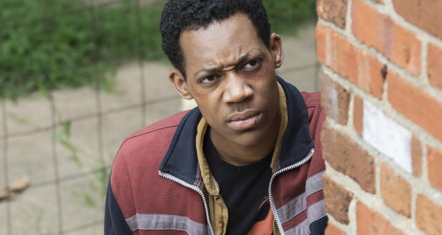 Tyler James Williams as Noah - The Walking Dead _ Season 5, Episode 7 - Photo Credit: Gene Page/AMC