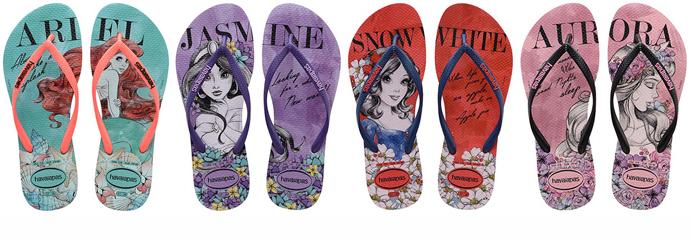 9c8481e9c7 Havaianas lança linha de chinelos de princesas da Disney mas ignora ...