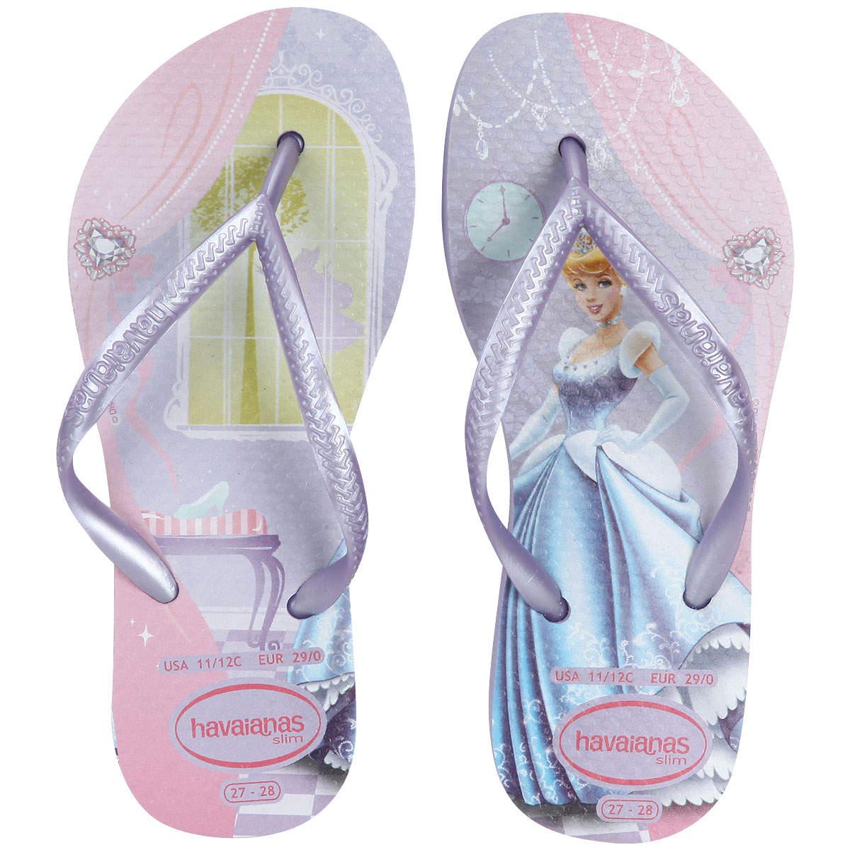 232713dfc Havaianas lança linha de chinelos de princesas da Disney mas ignora ...