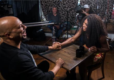 Na entrevista, Serena e Common discutiram sobre gênero, racismo e esporte