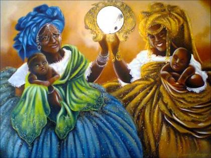 Iemanjá e Oxum. Imagem: Reprodução/Youtube
