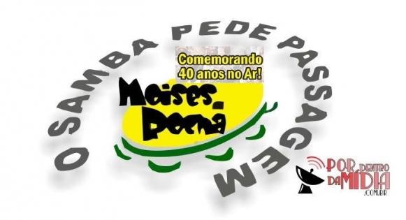 Foto: Reprodução/Facebook Moisés da Rocha - O Samba Pede Passagem