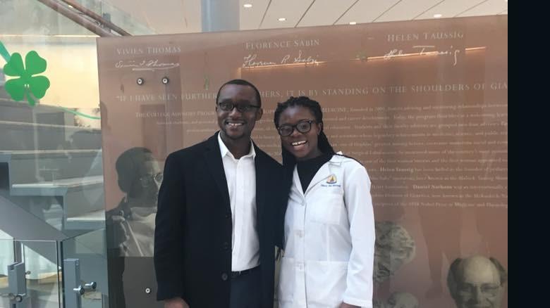 Nancy Abu-Bonsrah e seu esposo, Kwabena Yamoah. Foto: Reprodução