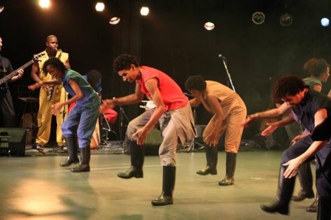 Foto:Reprodução\Facebook Oficial Gumboot Dance