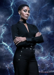 Black Lightning -- Image BLK_SINGLES_LYNN.jpg -- Pictured: Christine Adams as Lynn -- Photo: Mark Hill/The CW -- © 2018 The CW Network, LLC. All rights reserved