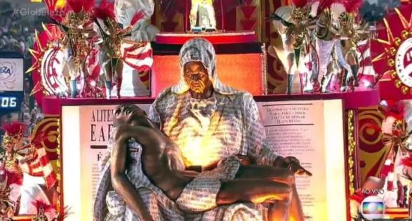 Representação negra de Pietá. Foto: Reprodução