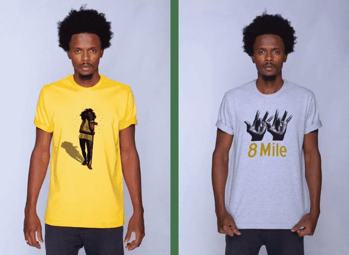Amarelo com Cinza compõem as cores das camisetas TNM